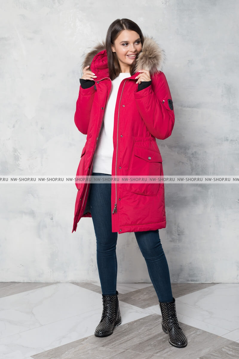 Женское зимнее пальто-парка Nord Wind 834
