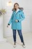 Женская зимняя куртка Nord Wind 842 мех Blue Frost