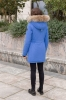 Женская зимняя куртка Nord Wind 842 мех енот